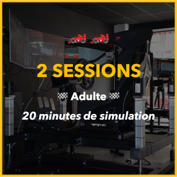 2 sessions adulte
